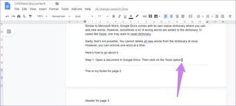 Google Docs Other Header Footer 7
