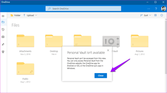 How to set Up Onedrive Personal Vault and why 4