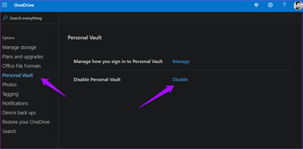 How to set Up OneDrive personal safe and why should 15