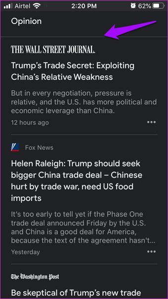 Google News vs Apple News Comparison 10