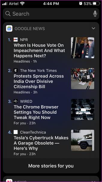 Google News vs Apple News Comparison 15