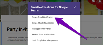 Send Google form responses to multiple email addresses 10