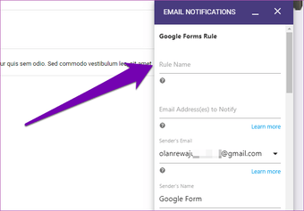 Send Google form responses to multiple email addresses 11