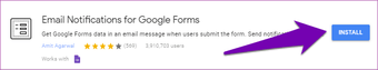 Get Google Forms responses by email 03