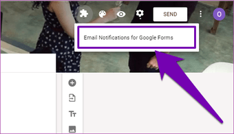 Receive responses from Google Forms in email 08