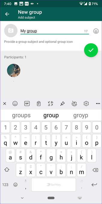 Create Whatsapp group with yourself on Iphone Android 4