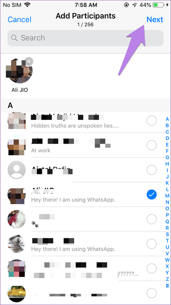 Create Whatsapp group with yourself on Iphone Android 11