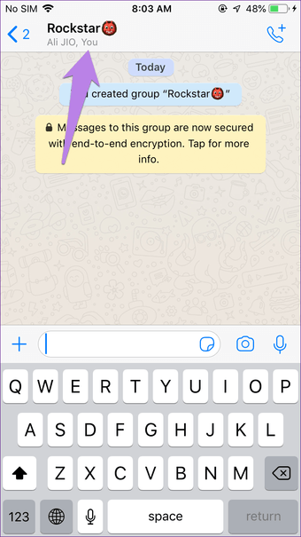 Create Whatsapp group with yourself on Iphone Android 13