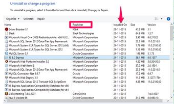 Add or remove programs 1