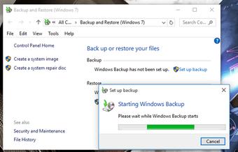 Windows Back-up 3