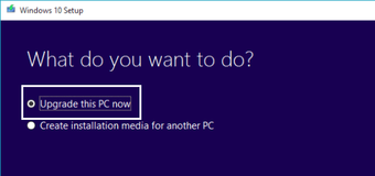 Upgrade the PC