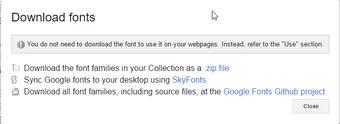 Google Fonts 5