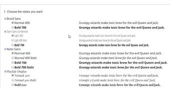 Google Fonts 3