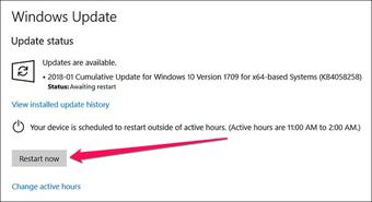 Windows Update and Shutdown Everytime Issue 2