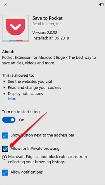 Enabling Extensions in Private Mode in Microsoft Edge Ii 1