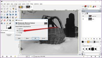 Gimp image background transparent 15