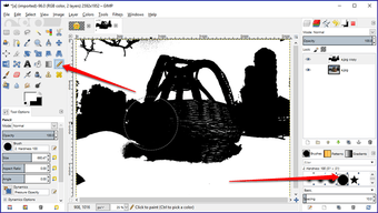 Gimp image background transparent 18