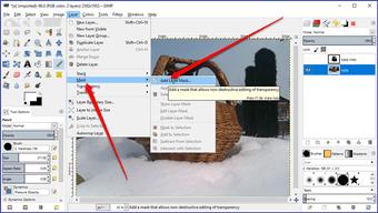 Gimp image background transparent 22