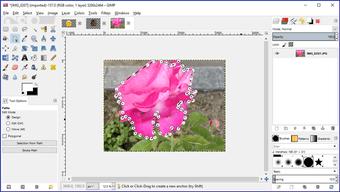 Gimp image background transparent 32