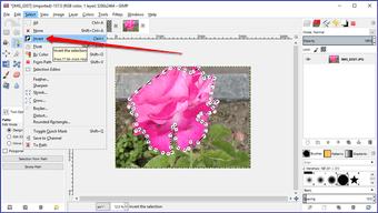 Gimp image background transparent 33