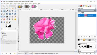 Gimp image background transparent 34