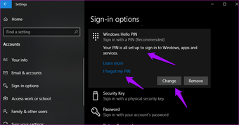Difference between PIN and password 6