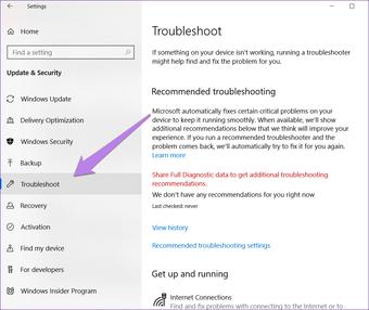 Fix sound problem after Windows 10 update