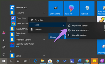 Windows 10 invisible icons 4