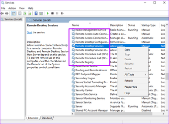 Troubleshoot Windows 10 Remote desktop not working 6