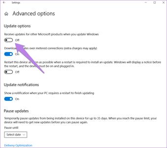 Windows 10 Update issue 5