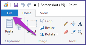 Save Screenshot Pdf Paint
