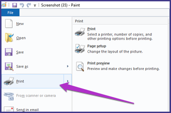 Save Screenshot Pdf Windows Microsoft Paint