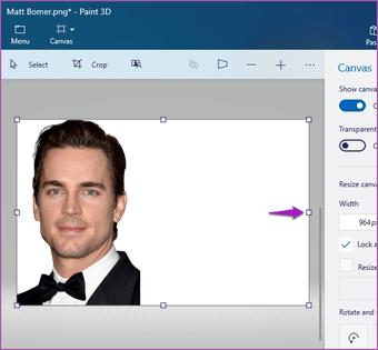 Merge two images Paint 3D Windows 10 02