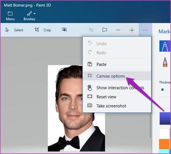 Merge two images Paint 3D Windows 10 01