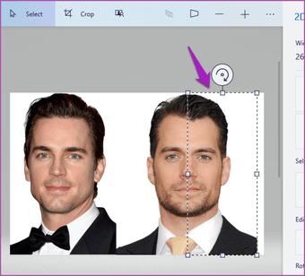 Merge two images Paint 3D Windows 10 05