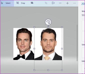 Merge two images Paint 3D Windows 10 04