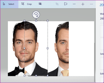 Merge two images Paint 3D Windows 10 06
