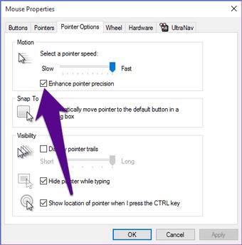 Disable Mouse Acceleration Windows 10 Pc 01