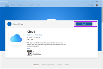 Icloud Drive does not sync Windows 10 9