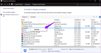 Fix Dropbox Won't Connect or Sync on Windows 10 Error 13