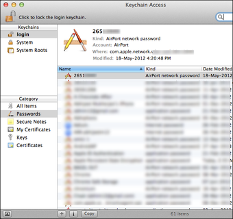 Find the Wi Fi password for Mac3