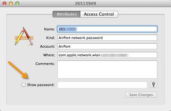 Find the Mac5 Wi Fi password