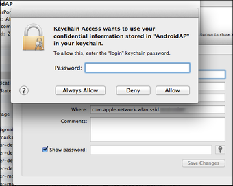 Find your Wi Fi password for Mac6
