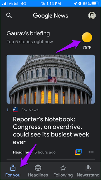 Google News vs Apple News Comparison 1