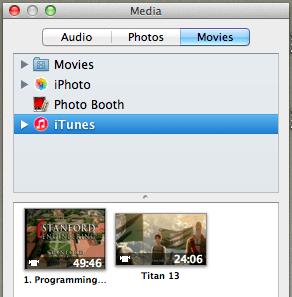 Media browser movies