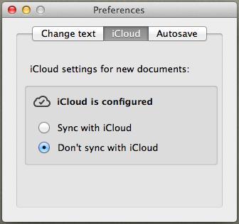 Draft control settings 2