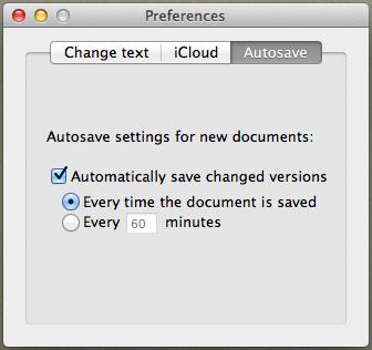 Draft control settings 3