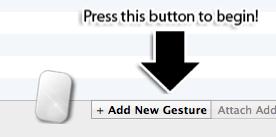 Btt Add gesture